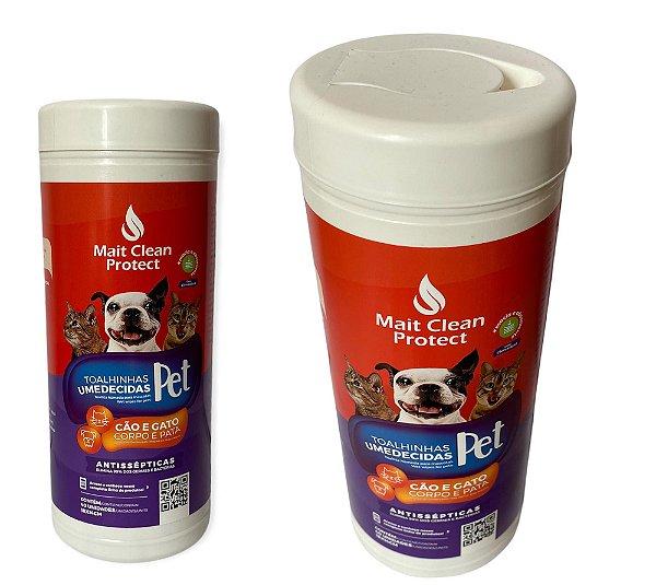 Toalha umedecidas para cachorro ou gato