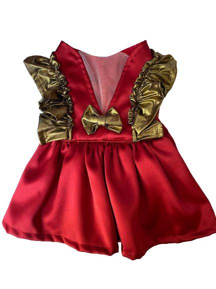Vestido Luxo Vermelho