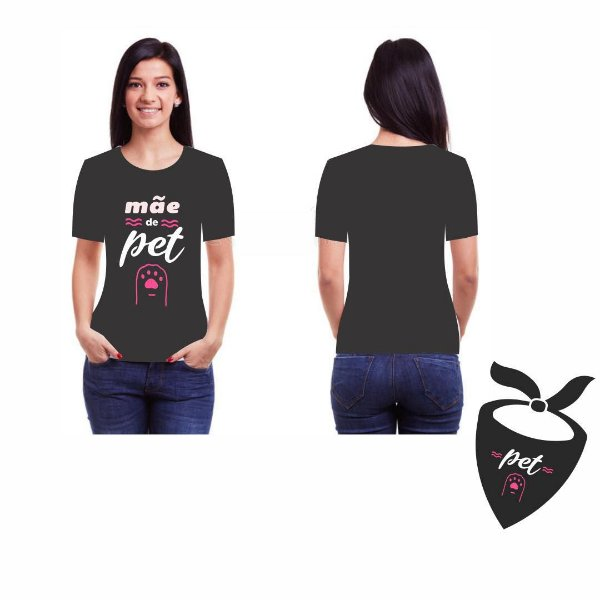 Camiseta e Bandana Tal mãe