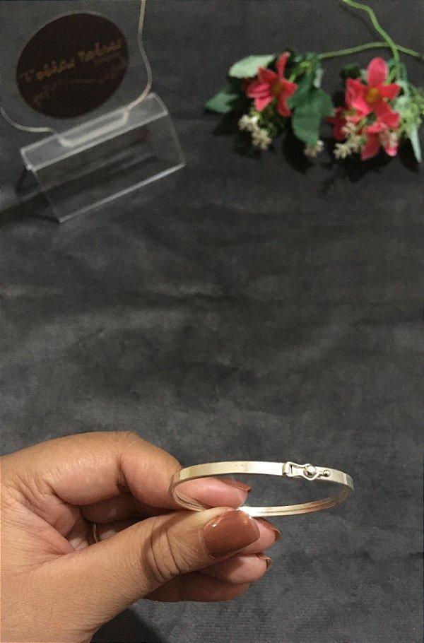 Bracelete Liso - Prata 925