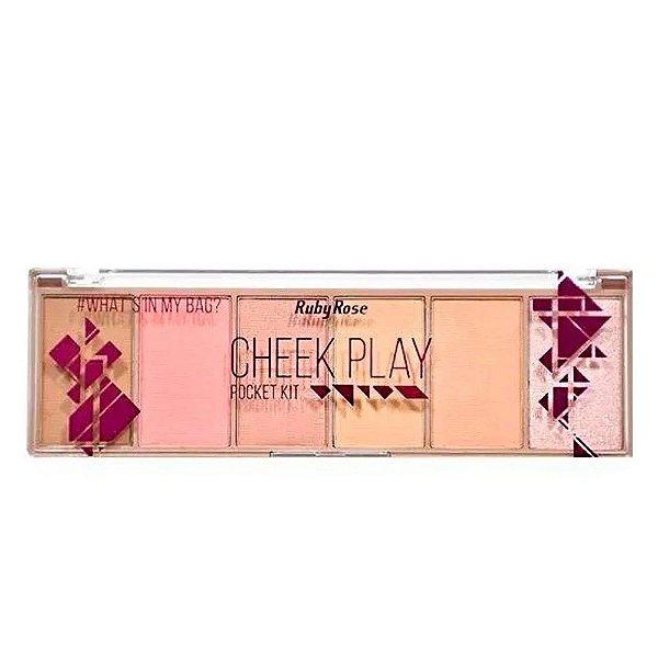 Paleta Cheek Play Ruby Rose