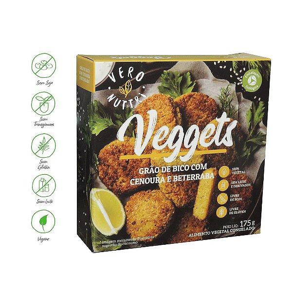 Veggets Vero Nuttri Grão de Bico com Beterraba & Cenoura 175g  (Un)