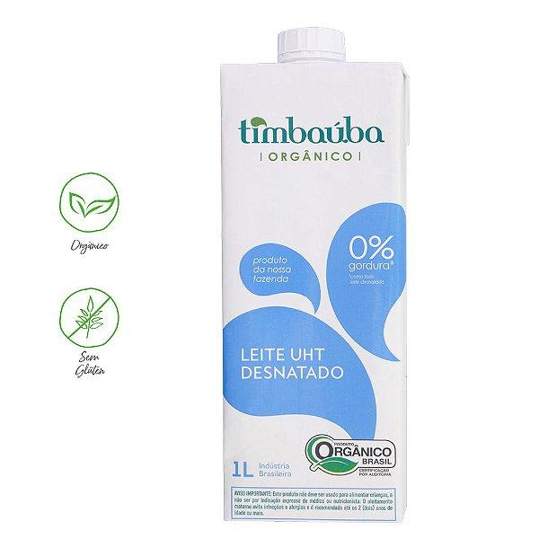 Leite Timbaúba UHT Desnatado Orgânico 1L (Un)