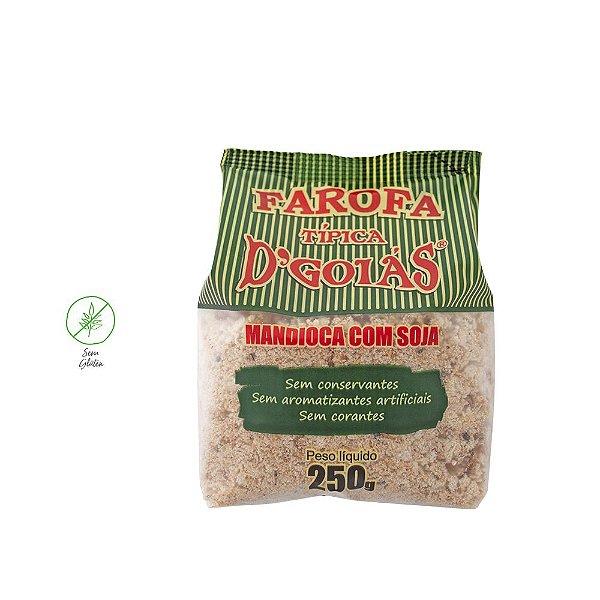 Farofa de mandioca com soja 250g (Un)