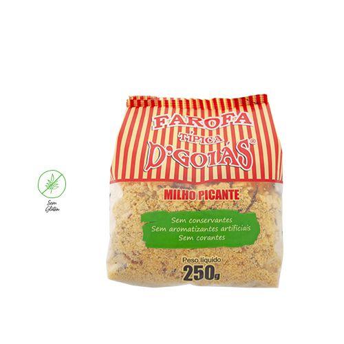 Farofa de milho picante 250g (Un)