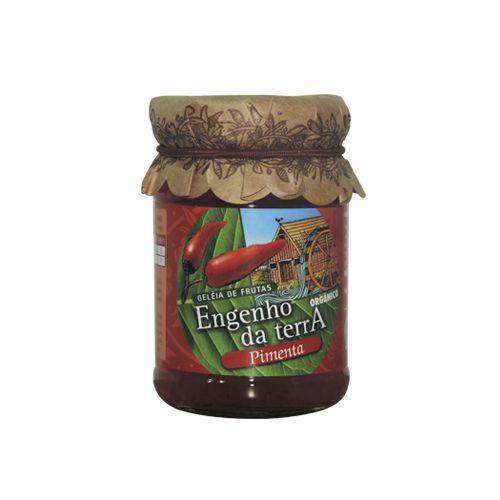 Geleia de frutas sabor pimenta orgânica 210g