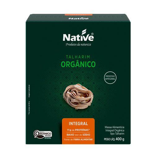 Talharim Orgânico lntegral 400g Native