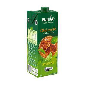 Chá mate com limão orgânico 1L Native