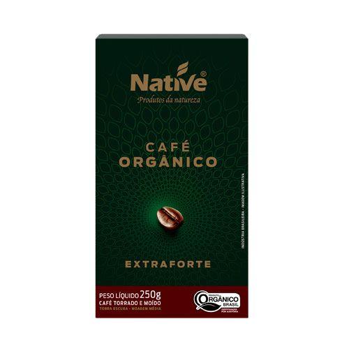 Café Orgânico Extra Forte 250g Native