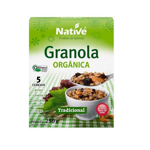 Granola Orgânica Tradicional 250g Native