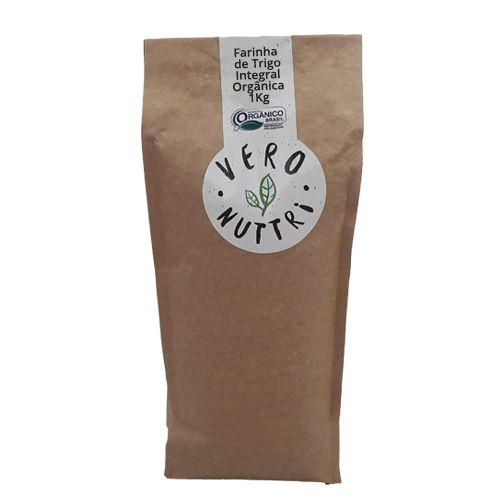 Farinha de Trigo Integral Orgânica 1kg Vero Nuttri