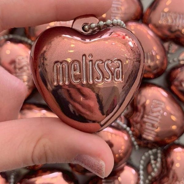 Miniatura Coração Cromado