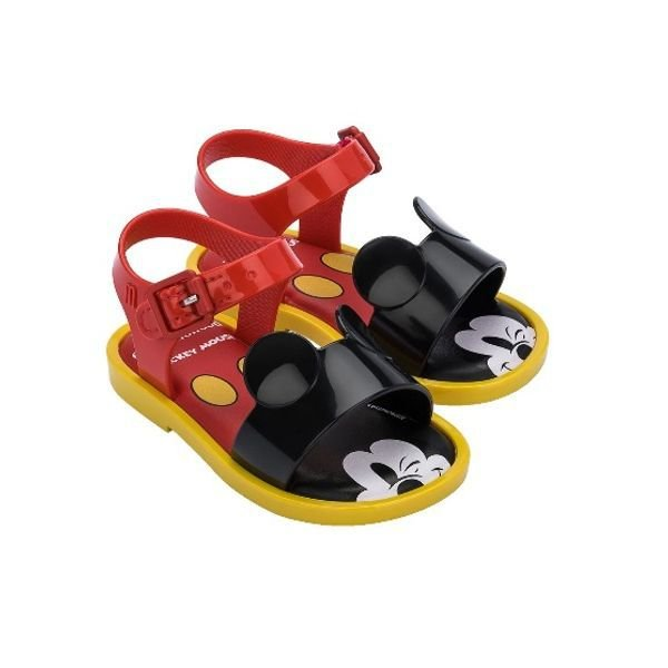 Mini Melissa Mar Sandal + Mickey And Friends Baby