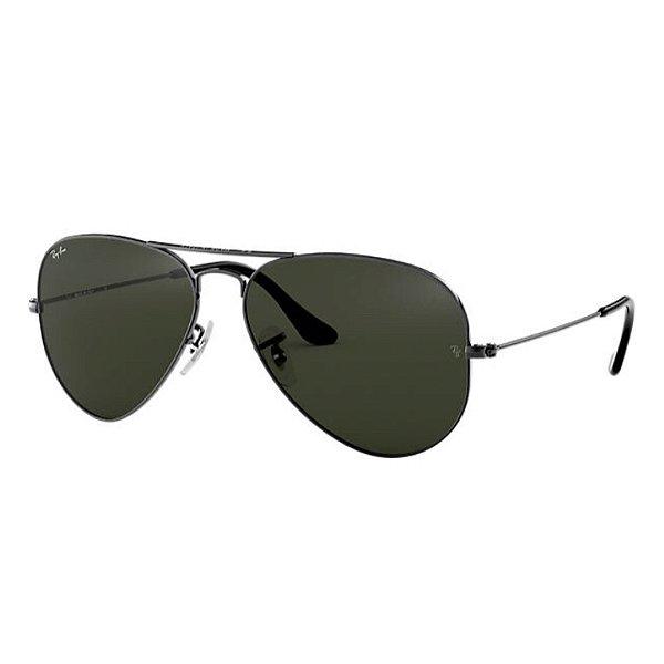 Óculos Ray-Ban Aviator Classic preto RB3025