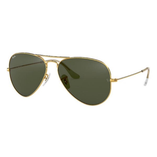 Óculos Ray-Ban Aviator Classic ouro verde RB3028