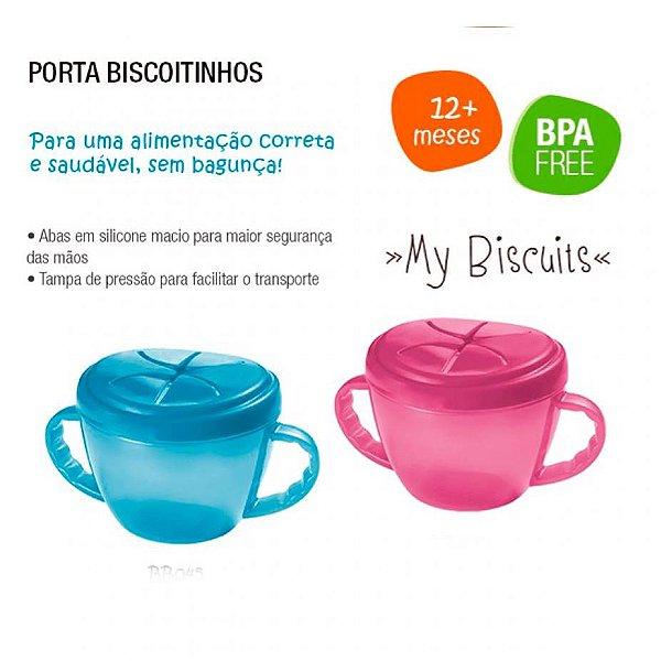 PORTA BISCOITINHOS ROSA
