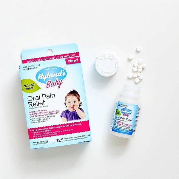 Tabletes de alívio de dor oral  Hyland