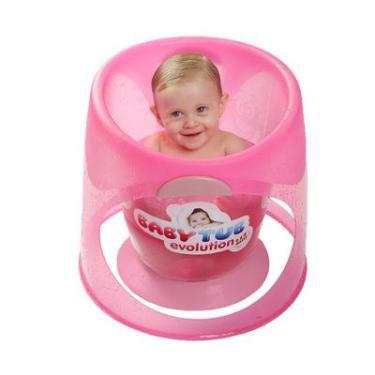 BANHEIRA EVOLUTION ROSA BABY TUB