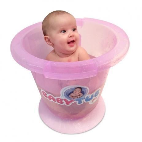 BANHEIRA TRADICIONAL ROSA BABY TUB