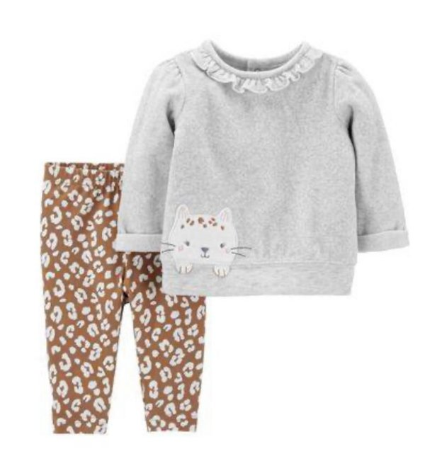 CONJUNTO GATINHA PINTADINHA CHILD OF MINE BY CARTER'S