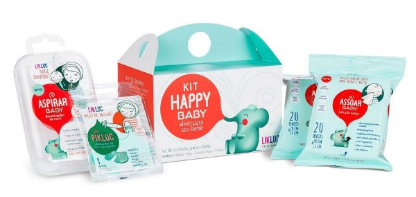 KIT HAPPY BABY 1 ASPIRAR BABY + 2 ASSOAR BABY + 1 PIKLUC LIKLUC