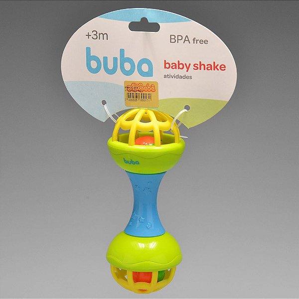 BABY SHAKE ATIVIDADES VERDE BUBA 3M+