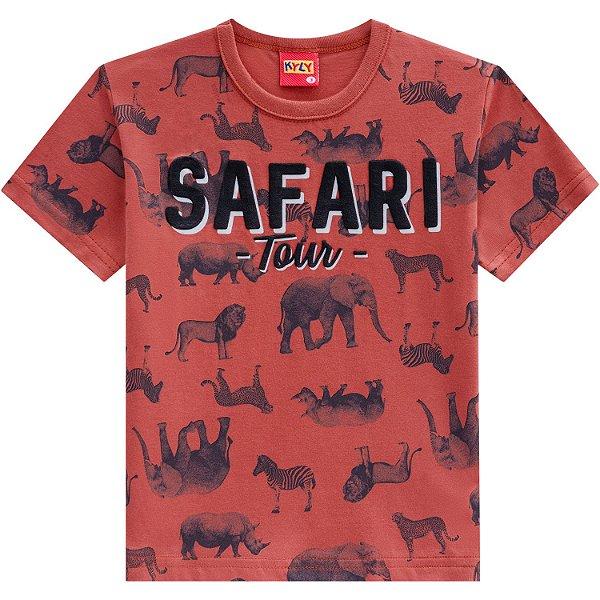 Camisa Laranja Safari Kyly