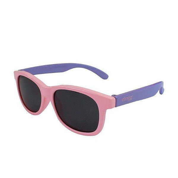 Óculos Escuro Rosa Clingo
