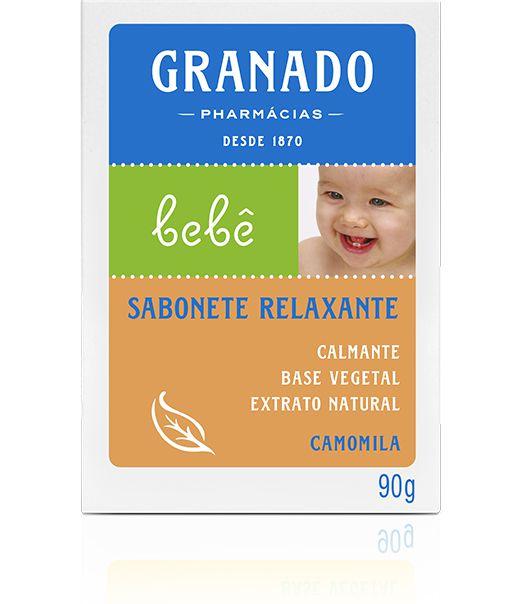 SABONETE BARRA RELAXANTE CAMOMILA 90g GRANADO