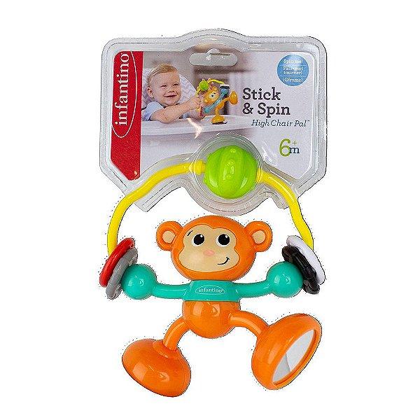 Brinquedo Para Cadeirão Macaco Infantino