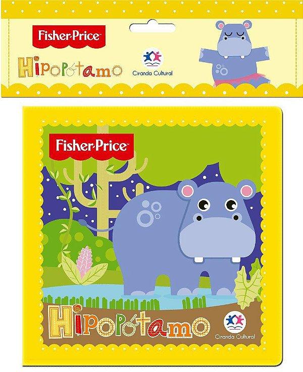 Livrinho De Banho Hipopótamo Fisher Price