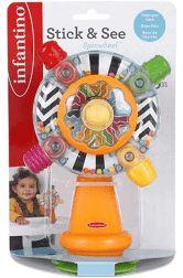 Brinquedo Interativo Roda Giratória Infantino