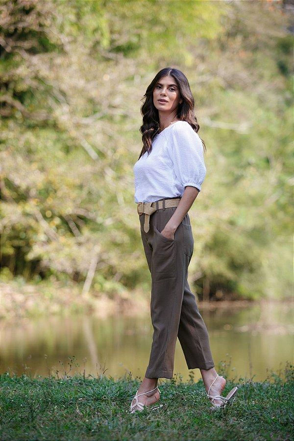 Blusa Paola Branca