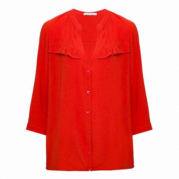 Camisa Atenas Carmine
