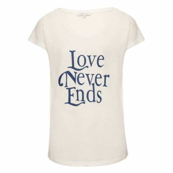 Camiseta Love Azul