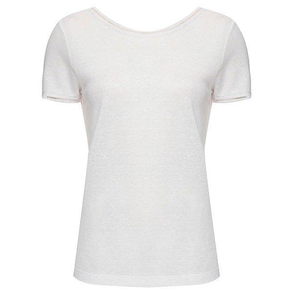 Camiseta Cláudia Branca