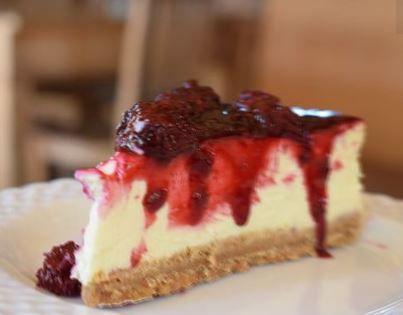 Cheesecake de frutas vermelhas
