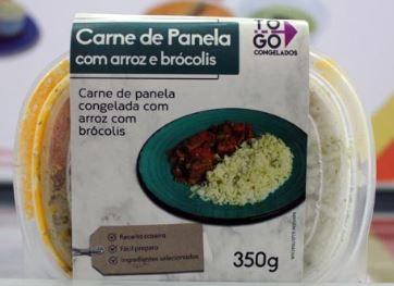 Carne de Panela com Arroz e Brócolis 350g
