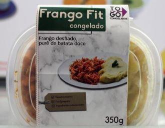 Frango Fit com purê de batata doce 350g