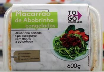 Macarrão de Abobrinha com Molho a Bolonhesa 600g