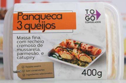 Panqueca 3 Queijos 400g