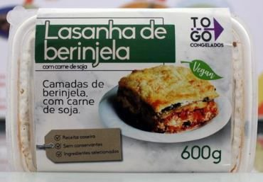 Lasanha de Berinjela Vegana 600g