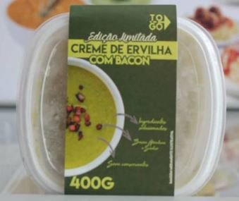 Creme de Ervilha com Bacon 400g