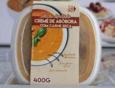 Sopa Abóbora com Lombo 400g