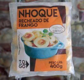 Nhoque Recheado de Frango 400g