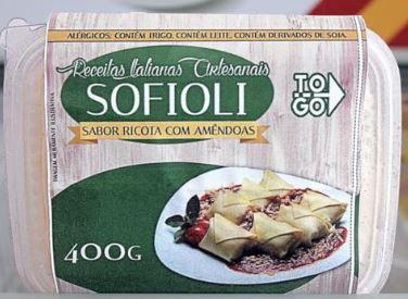 Sofioli de Ricota com Amêndoas 400g