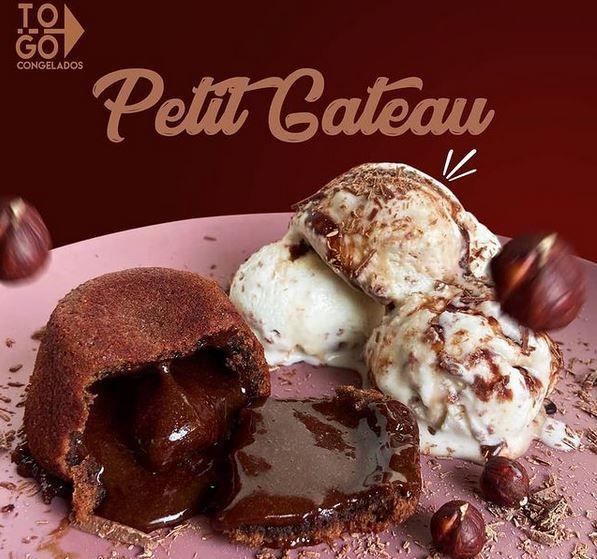 Petit Gateau 320g (4 unidades)