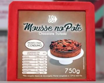 Mousse de Chocolate Trufado 750g