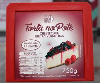 Cheesecake de Frutas Vermelhas 750g