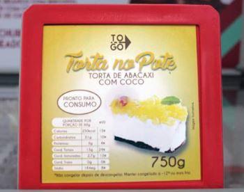 Torta de Abacaxi com Coco 750g